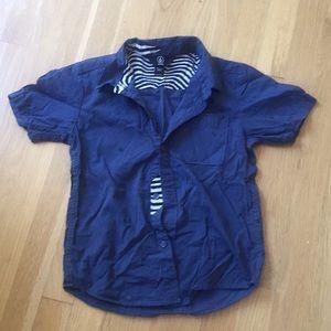 Colvin sz 7 Navy shirt great patterns comfortable